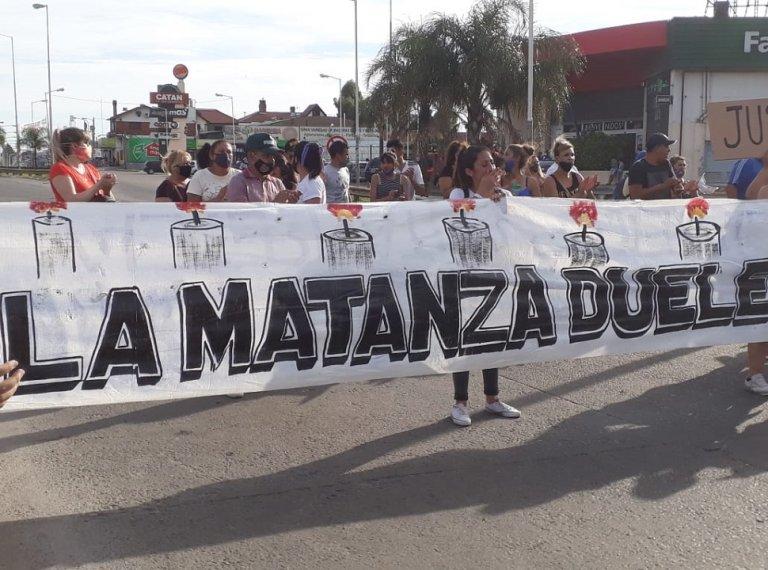 La Matanza Duele acompañó la marcha en pedido de Justicia por AnaAstorga